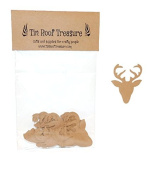 Tin Roof Treasure Reindeer Die Cuts 5.1cm Pack of 35
