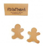 Tin Roof Treasure Gingerbread Man Die Cuts 6.4cm Pack of 25