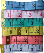 LeBeila Pack Of 12 Tailor Sewing Measuring Tape Soft Body Tape Measure Cloth Ruler 60''150cm