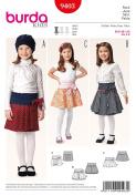 Burda Kids 9403 Skirt
