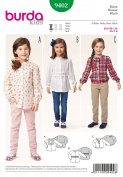 Burda Kids 9402 Blouse