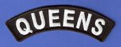 BRAND NEW QUEENS NEW YORK CITY ROCKER BIKER IRON ON PATCH supplier_midyatjewelry
