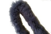 Real Rabbit Fur Pipping Trim for Collar, Cuffs