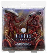 NECA Aliens 18cm Scale Action Figure - Genocide Big Chap and Dog Alien
