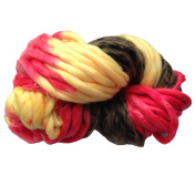 Zituop Super Chunky Roving Big Yarn for Hand Knitting Crochet, 250g, 8.8 Ounze