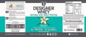 Designer Whey Premium Natural 100% Whey Protein, French Vanilla, 350ml