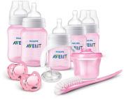 Philips AVENT Anti-Colic Bottle Newborn Starter Set, Pink