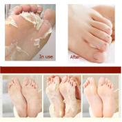 (2 packs) Japanese Hyaluronic Acid Baby Feet Highly Effective Peeling Foot Mask