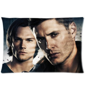 The World's Best Science Fiction SUPERNATURAL Series Dean Winchester Pillowcase - Two Sides