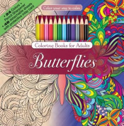 Color Your Way to Calm Butterflies