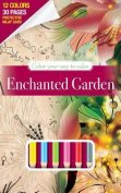 Color Your Way to Calm Enchanted Gardens