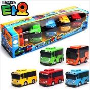 Tayo Little Bus Wind Up Toys, 5 Pieces (Tayo + Rogi + Gani + Rani + Citu) by Tayo
