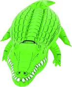 Bestway Crocodile Inflatable Ride On Toy (Green) by Bestway