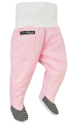 """TipTap"" Trousers with Feet, Soft Pink"