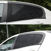 AllRight Car Window Sunshades Window Sun Cover Blocking Over Harmful UV Rays 2 Pack