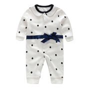 Baby Romper One Piece Outfits Cotton Suits Long Sleeve Jumpsuit for Boys Girls (age 0-2 years) Vine