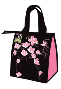 Small Non-Woven Lunch Bags Cherry Blossoms