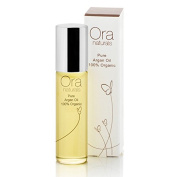 ORA Natural Certified 100% Organic Pure ARGAN Oil (antioxidants and Vitamin E for anti-ageing) - 15ml - for hair, face and body
