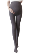 KOOYOL Women's Adjustable Maternity Pantyhose Opaque Tights Leggings 120 Denier 6 Colour