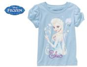 Disney Frozen Elsa Toddler Girl Short Sleeve Graphic Tee Shirt
