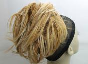 New UpDo short 18cm Length Synthetic Drawstring Scrunchies Instant Hairdo Bun Ponytail Hair do Wig Extension Light Blonde