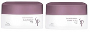 WELLA SP CLEAR SCALP MASK 200ML X 2 - ANTI DANDRUFF MASK + FREE TRACKED DELIVERY