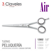 3 Claveles Reference Professional Hairdressing Scissors In Stainless Steel Forged Hot, Air, Measure X Series 14cm