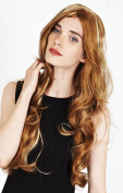 Premium Quality Long Brown with Blonde Highlights Number 27H613 Ladies Wavy Style Wig