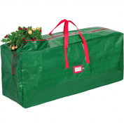 Zober Christmas Tree Bag - Artificial Christmas Tree Storage for Trees up to 7' Tall - Also Accommodates Holiday Inflatables | 48 x 15 x 20