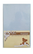 DK Glovesheet Organic Fitted Sheet for Chicco Next 2 Me - Blue