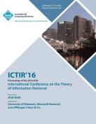 Ictir 16 International Conference on Theory of Information Retrieval