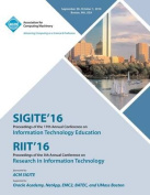Sigite/Riit 16 17th Annual Conference on Information Technology Education/5th Annual Conference on Research in Infomation Technology