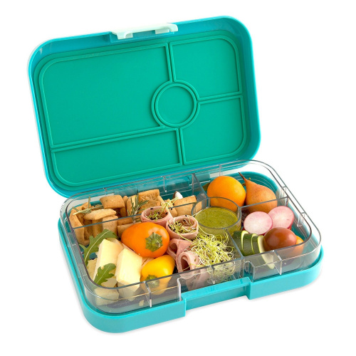 yumbox tapas antibes blue leakproof bento lunch box for pre teens teens adu ebay. Black Bedroom Furniture Sets. Home Design Ideas
