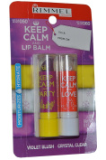 Rimmel Keep Calm and Love Lip Balm Violet Blush