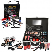 43 Piece Vanity Case Make up Set Storage Box Beauty Cosmetic Gift Christmas