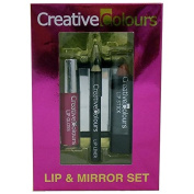 Creative Colours Lip & Mirror Set - Perfect Stocking Filler