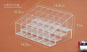 Liroyal Clear Acrylic Lipstick Holder Display Stand Cosmetic Organiser Makeup Case