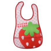 Molie 3D Cartoon Pattern EVA Baby Waterproof Saliva Towel Baby Bib