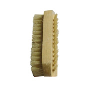 CareforYou® Hand Food Washing Fingernail Nail Brush Bristle & SPA Oil Massage Brush, Wood Handle & Natural Bristle Manicure Brush