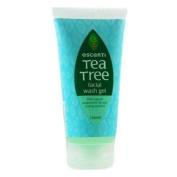 THREE PACKS of Escenti Tea Tree Facial Wash Gel 150ml
