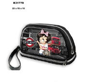 Betty Boop BettyBoop beauty londonToiletry Bag black black 23*15*10
