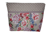 Lilli Löwenherz Toilet Bag / Cosmetics Bag Large with Inside Pocket Rosy Blue