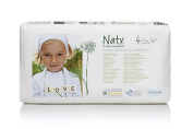 Naty by Nature Babycare Size 4 (7-18 kg) Nappies--1 x Pack of 46