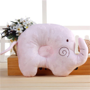 Elephant Newborn Baby Infant Sleep Pillows Head Positioner Pillow Prevent Flat Head Plush Pillows for 1 Months~1 Year