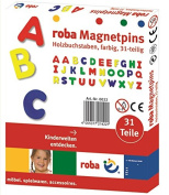Roba Baumann GmbH Wooden Magnetic Letters