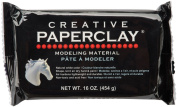Creative Paperclay for Modelling Compound, 470ml, White