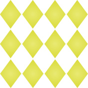 """SMALL DIAMONDS STENCIL (size 5""""w x 5""""h) Reusable Stencils for Painting - Best Quality Scrapbooking Wall Art Décor Idea - Use on Walls, Floors, Fabrics, Glass, Wood, Cards, and More…"""
