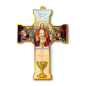 Religious, Inspirational and Catholic Gifts, cross chalice, jesus giving, first communion, 20cm