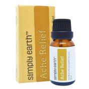 Ache Relief Essential Oil Blend by Simply Earth - 15ml, 100% Pure Therapeutic Grade