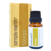 Sleepy Essential Oil Blend by Simply Earth - 15ml, 100% Pure Therapeutic Grade